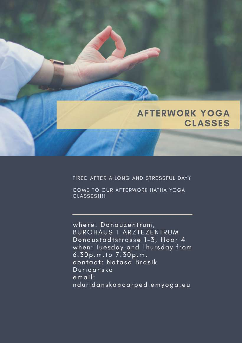 Afterwork Yoga Classes