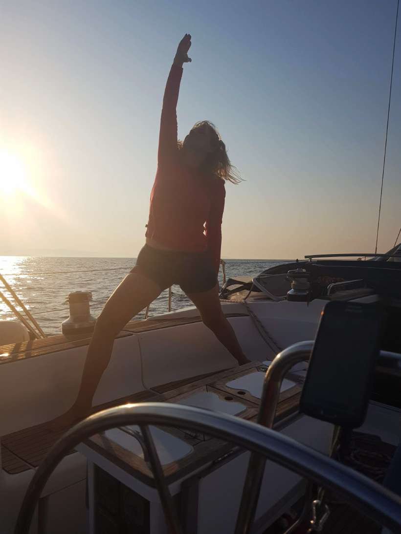 The Power of Meditation at Sea