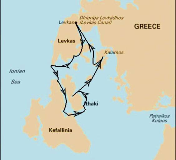 Yoga & Sailing Retreat: Ionian Sea 2020 - Itinerary