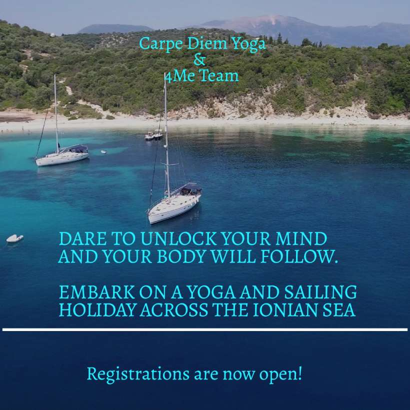 Yoga & Sailing Retreat: Ionian Sea 2020