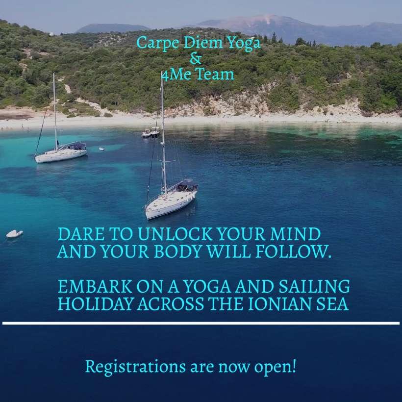 Yoga & Sailing Retreat: Ionian Sea 2020