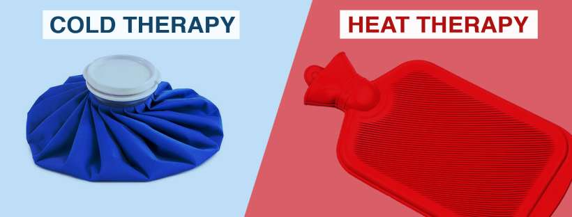 Heat or Cold - What is Best for My Injury? Cold therapy or Heat therapy?